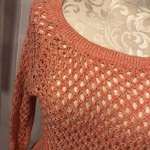 American Eagle Outfitters Tops - American Eagle Coral Sweater